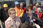 Transit plan key part of Wynne, Liberals election platform