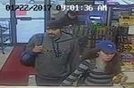 Suspects sought in theft of wallet, power tools, GPS from vehicle in Burlington