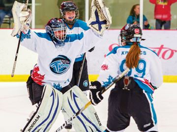 Midget AA squad takes on Chinese women's national team
