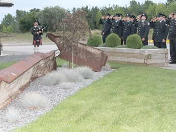 Meaford Fire Department holds 9/11 memorial