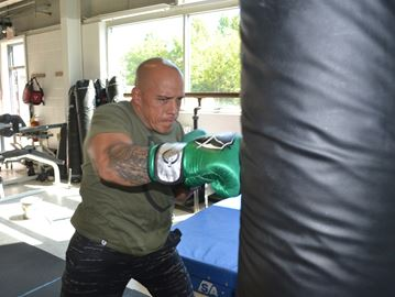 Collingwood boxer steps into the ring on Sept. 24
