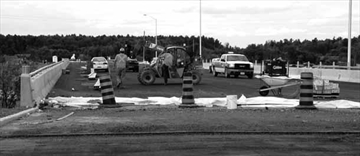 Hwy. 417 interchange at Hunt Club nearing completion– Image 1