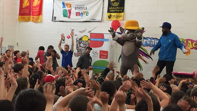 North York's Cameron Public School in the Pan Am Games spirit-image1