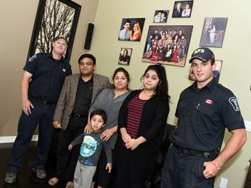 Family suffers CO poisoning in their Milton home