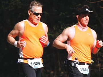 Father, son ran Toronto Goodlife Marathon