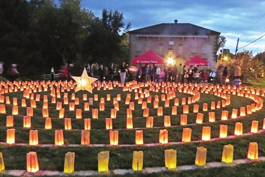 Help 'Light up the Labyrinth' Sept. 12 in Carleton Place– Image 1
