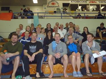 Burlington Masters Swim Club Third In Ontario