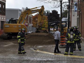 Gas leak on Mill Street