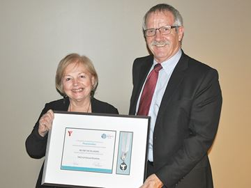 YMCA Peace Medallion bestowed on Midland group We Are the Villagers