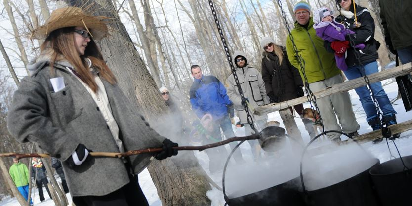 Island Lake Conservation Area Maple Syrup Festival
