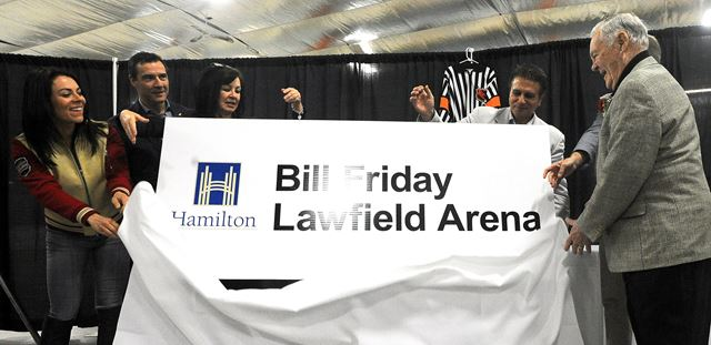 Former Nhl Referee Bill Friday S Name Added To Hamilton S
