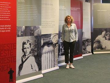 James Joyce display at Brockville library