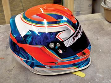 Stolen helmets