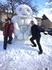 Hulk snowman