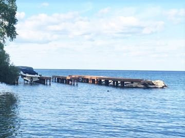 "Illegal Innisfil pier, ""massive"" boathouse plan prompt emergency control bylaw"