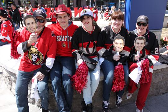 'Young and hungry' to serve as Sens playoff rally cry: Senators president