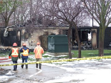UPDATE: Fire destroys Port of Orillia building