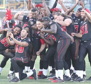 RedBlacks fans, players celebrate grand opening of TD Place; First hom– Image 1