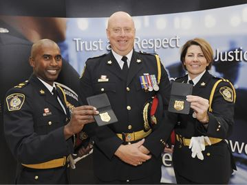 Halton police deputy chiefs sworn in