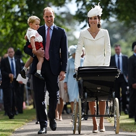 Britain's Princess Charlotte of Cambridge christened-Image1