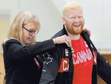 Rio Paralympics Team Canada goal ball