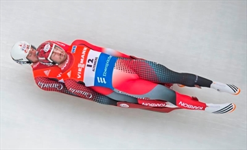 Walker, Snith fifth in luge World Cup-Image1