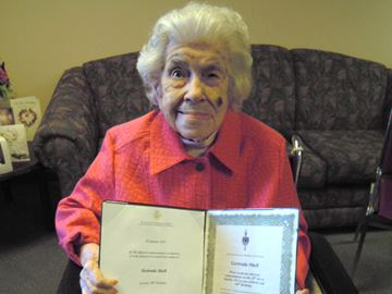 Collingwood woman turns 106