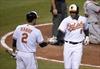 Bats boom for Orioles