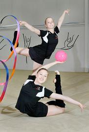 Teens 'live, sleep and breathe gymnastics'