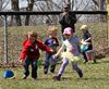 Ayr Optimist Club Easter egg hunt 2014