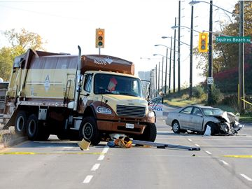 Bayly Street Collision