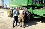 Harvesting for Food Grains Bank