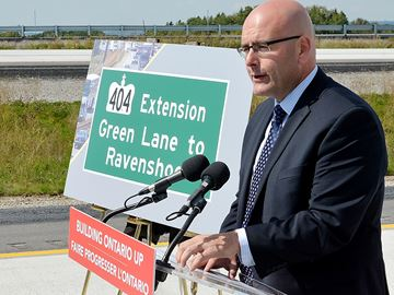Hwy. 404 NOISE IS CONCERN FOR SOME