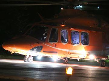 Air ambulance dispatched