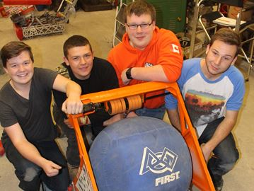 Clearview robotics team gears up for new season