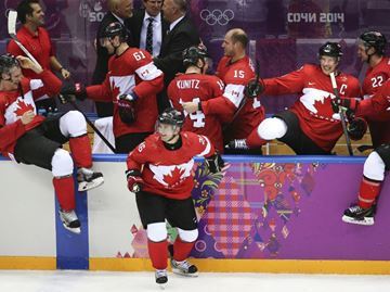 Canadian Olympic hockey team