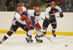 Highly Charged Boys Hockey Final in Markham