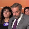 Tom Mulcair vows to boost funding for women's shelters