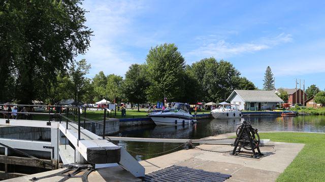 Canal Fest in Merrickville