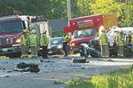 Crash closes Highway 12 in Victoria Harbour
