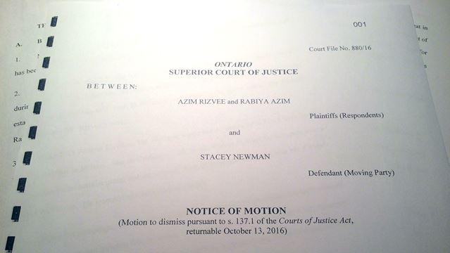 Milton woman looks to have $17.5M libel lawsuit dismissed