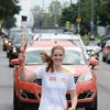 Torch Run for the Pan Am Games in Clarington