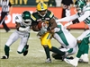 Eskimos hold on to beat Riders 33-25-Image1