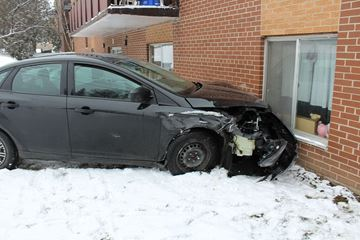 Hillside Drive crash