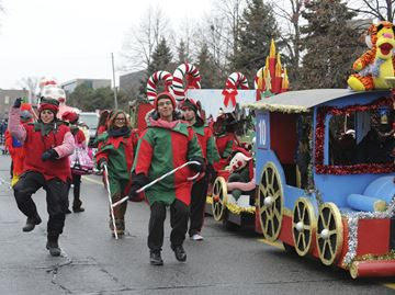 Lakeshore Santa Claus Parade