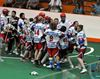 Lakers celebrate win over rival Six Nations Chiefs