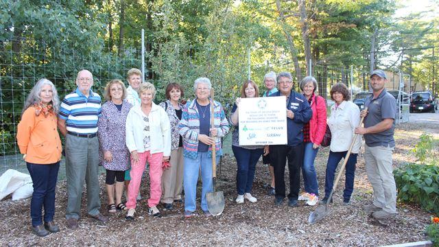 Grant For Apple Trees In Wasaga Beach Community Garden Bears Fruit