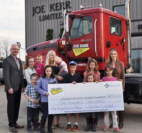 Joe Kerr Limited pledges $100,000