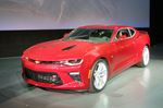 Chevrolet Camaro receives star treatment in Detroit-image1