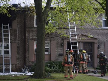 Burlington townhouse fire causes $150,000 damage